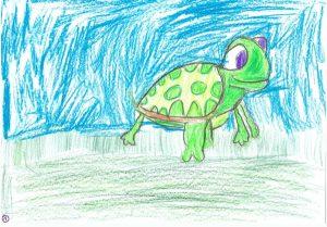La tortue qui voulait marcher plus vite