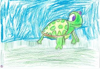 La tortue qui voulait...