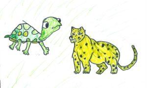 La tortue et le guépard