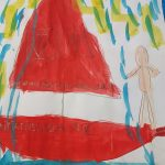Vendée Globe - Samantha Davies sur son bateau